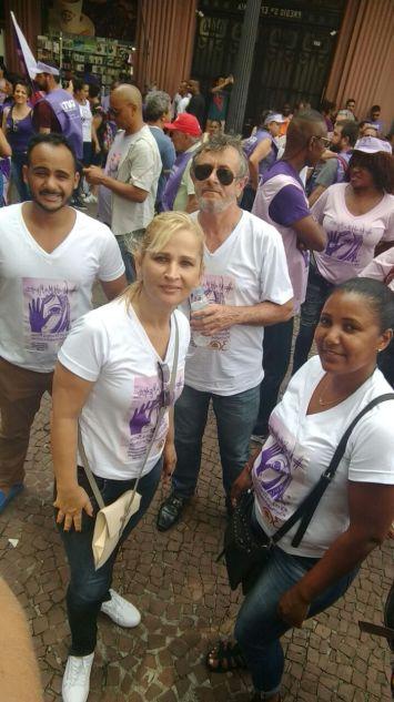 Ato em São Paulo